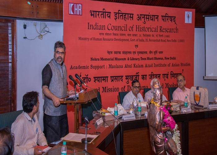 One Day Natinol Seminar on Life and Mission of Dr Syama Prasad Mookerjee at NMML New Delhi