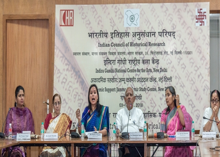 Three Days National Seminar on Kalhanas Rajatarangini Historical Perspective at IGNCA New Delhi
